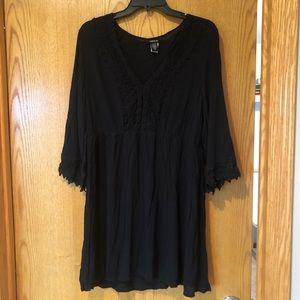 Black Torrid swim Coverup dress